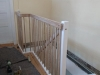 Viertel gewendelte Treppe massiv Buche und Eiche