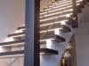 Aufgesatelte Treppe